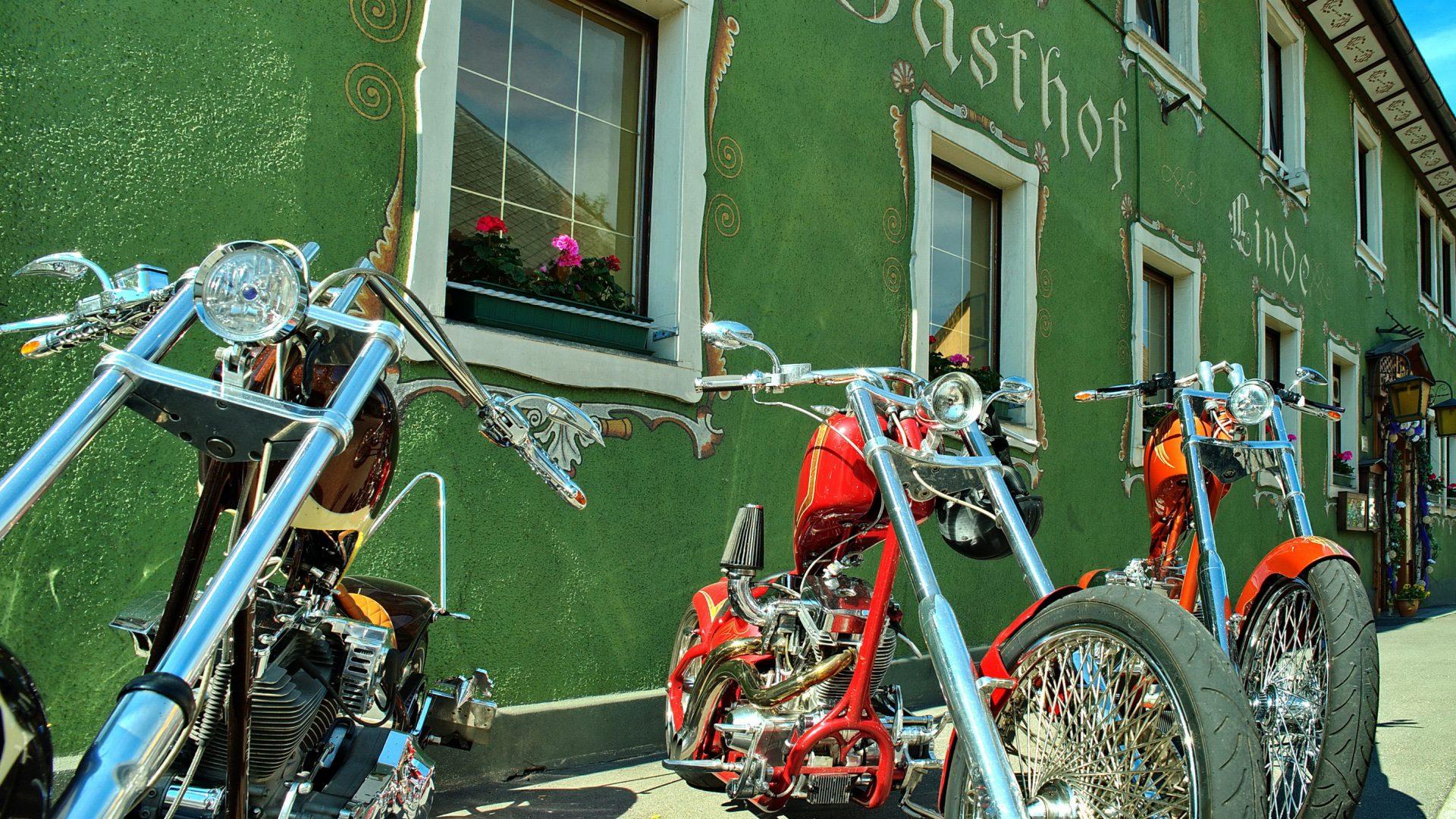 Motorradfahrer willkommen!